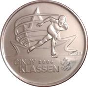 25 cents Cindy Klassen -  revers