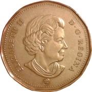 1 dollar Porte-bonheur 2008 -  avers