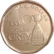 1 dollar Coupe Grey (100ème anniversaire) -  revers