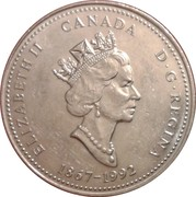 25 cents Alberta -  avers