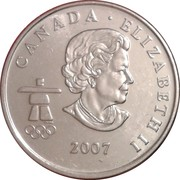 25 cents Vancouver 2010 (Curling) -  avers