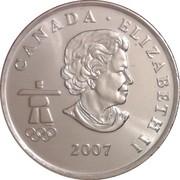 25 cents Vancouver 2010 (Ski alpin) -  avers