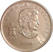 25 cents Vancouver 2010 (Ski de fond) -  avers