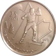 25 cents Vancouver 2010 (Ski de fond) -  revers