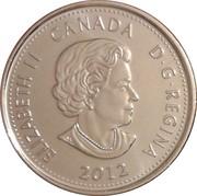 25 cents Isaac Brock -  avers
