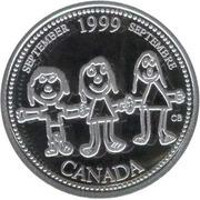 25 cents Septembre 1999 (argent) -  revers