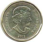 1 dollar Porte-bonheur 2012 -  avers