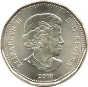 1 dollar Porte-bonheur 2010 -  avers