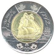2 dollars HMS Shannon -  revers
