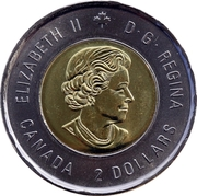 2 dollars Bataille de l'Atlantique -  avers