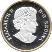 20 dollars Elizabeth II (Pygargue à tête blanche perché) -  avers