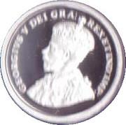 1 cent Georges V (Adieu à la pièce de 1 cent) – avers