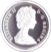 1 cent Elizabeth II 2ème effigie (Adieu à la pièce de 1 cent) – avers