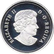 1 Cent Elizabeth II 4ème effigie (Adieu à la pièce de 1 cent) – avers