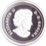 1 cent Elizabeth II (Adieu à la pièce de 1 cent) – avers