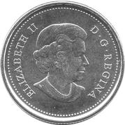 25 cents Épaulard -  avers