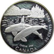 50 cents L'orque -  revers