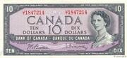 10 Dollars (Sans face de Diable) – avers