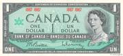 1 Dollar (Centenaire de la Confédération) – avers