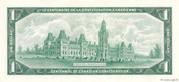 1 Dollar (Centenaire de la Confédération) – revers