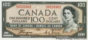 100 Dollars (Avec face de Diable) – avers