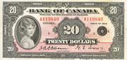 20 Dollars (Anglais) – avers
