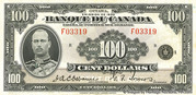 100 Dollars (Français) – avers
