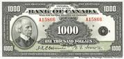 1,000 Dollars (Anglais) – avers