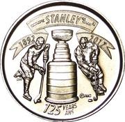 25 cents Coupe Stanley (125 ème anniversaire) -  avers