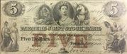 5 Dollars (Deuxième édition) – avers