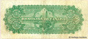 4 Dollars (Dominion of Canada) – revers