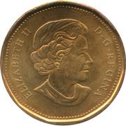 1 dollar Roughriders de la Saskatchewan (100ème anniversaire) -  avers