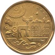 1 dollar Parcs Canada -  revers