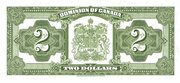 2 Dollars (Dominion of Canada) – revers