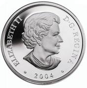 20 Dollars - Elizabeth II Aurora Borealis – avers