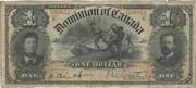 1 Dollar (Dominion of Canada) – avers