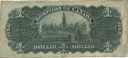 1 Dollar (Dominion of Canada) – revers
