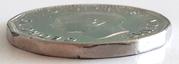 5 cents Georges VI (légende avec IND:IMP:) -  avers