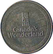 Canada's Wonderland Token – avers