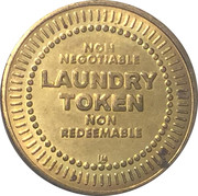 No Cash Value (Laundry token) – avers