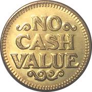 No Cash Value (Laundry token) – revers