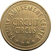 Token - Circuit Circus (Family Amusement Center) – avers