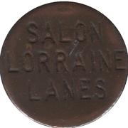 Jeton de quilles Salon Lorraine Lanes (Province de Québec) – avers