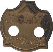 Coin-a-Matic jeton buanderie (Montréal, Québec) – avers