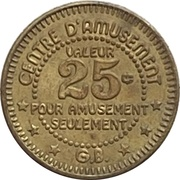 25 Cents - La Ronde (Montreal, Quebec) – avers