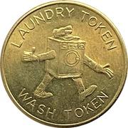 Laundry Token Wash Token – avers