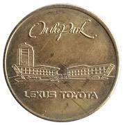 Jeton de lavage automobile - On The Park (Lexus Toyota) – avers