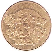 Jeton de lavage automobile 1 dollar - Suds City – avers
