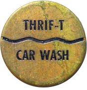 Jeton de lavage automobile - Thrif-T Car Wash (Neepawa, Mb) – avers