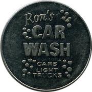 Jeton de lavage automobile - Ron's Car Wash (Ottawa, Ontario) – avers